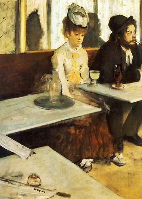 L'Absinthe di Edgar Degas