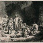 The Hundred Guilder Print - Rembrandt