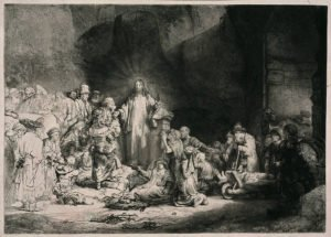 The Hundred Guilder Print - Rembrandt