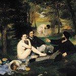 Le dejeuner sur l'herbe by Edouard Manet