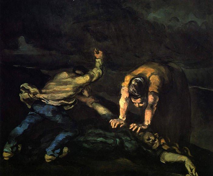 Vụ giết người của Paul Cezanne