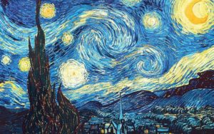 The Starry Night (1889)