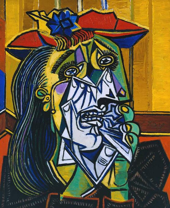 The Weeping Woman (1937) - Pablo Picasso