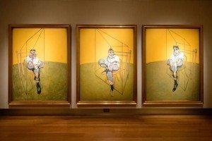 Three Studies of Lucian Freud (1969)