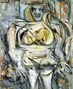 Woman III - Willem de Kooning