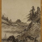 Autumn Landscape by Sesshu Toyo