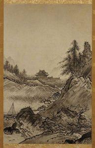 Autumn Landscape by Sesshu Toyo