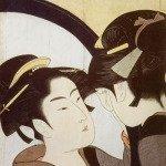 Beauty at her toilet by Kitagawa Utamaro