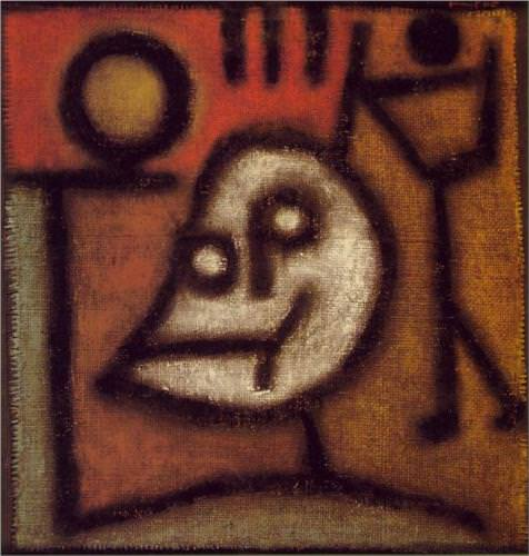 Death and Fire by Paul Klee