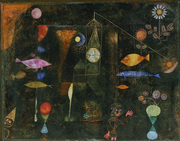 Fish Magic by Paul Klee