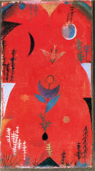 Flower Myth by Paul Klee