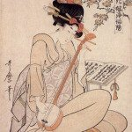 Flowers Of Edo by Kitagawa Utamaro