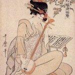 Flowers Of Edo by Kitagawa Utamaro