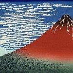 Fuji Mountains in Clear Weather by Katsushika Hokusai