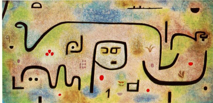 Insula Dulcamara by Paul Klee