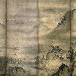 Landscape of the Four Seasons by Tensho Shubun