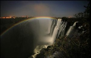 Moonbow In The Spray