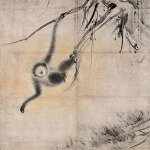 Picture of Monkey in Dead Trees by Hasegawa Tohaku