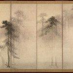 Pine Trees by Hasegawa Tohaku