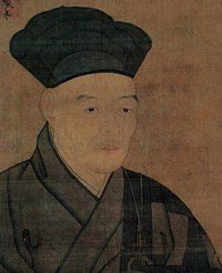 Self-Portrait of Sesshu Toyo