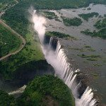 Victoria Falls has the largest sheet of falling water