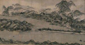 View of Ama-no-Hashidate by Sesshu Toyo