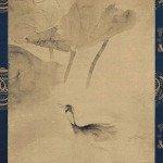 Water fowl in the Lotus Pond by Tawaraya Sotatsu