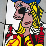 Woman with Flowered Hat by Roy Lichtenstein