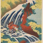 Yoshitsune Falls from the series Famous Waterfalls in Various Provinces by Katsushika Hokusai