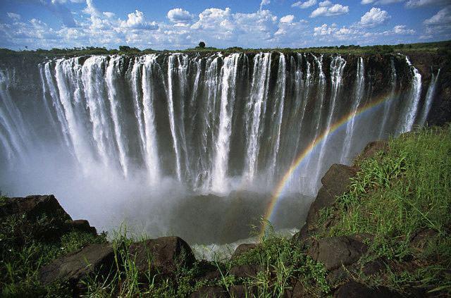 Victoria Falls or Mosi-oa-Tunya