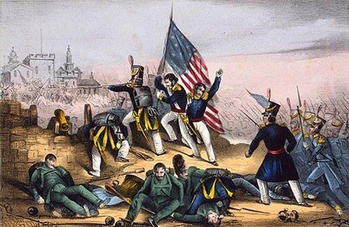 Battle at Chapultepec