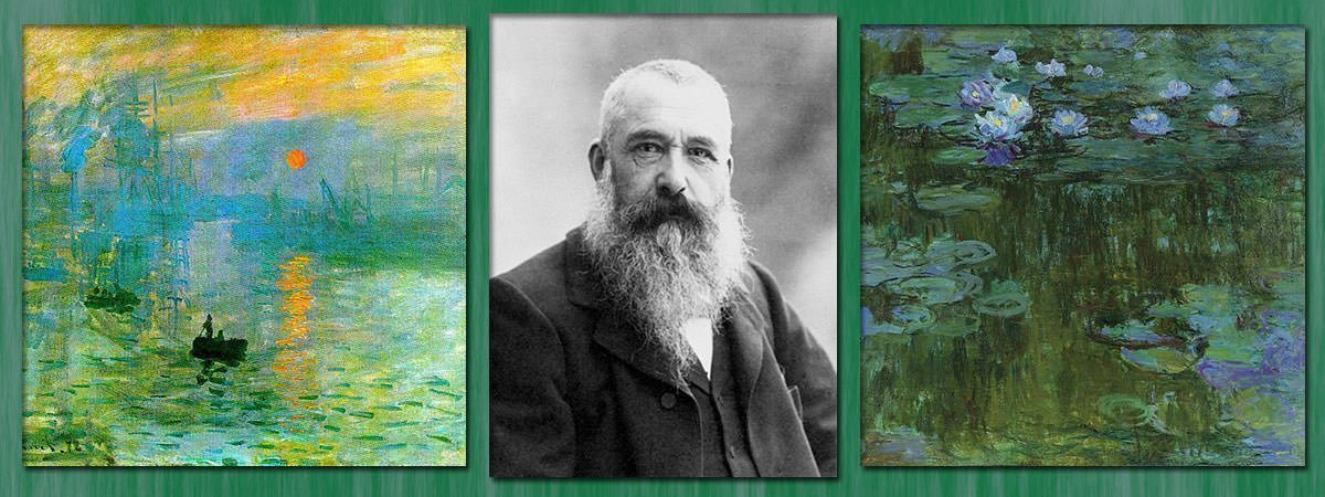 Claude Monet Facts Featured