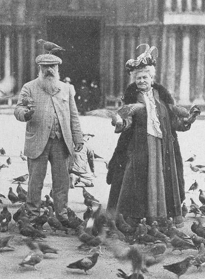 Claude Monet and Alice Hoschede
