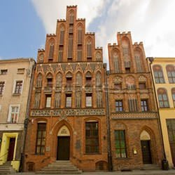 Copernicus-House,Torun. Birthplace of Copernicus