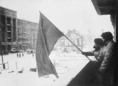 Germans surrender on 2 February,1943