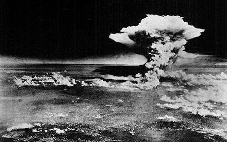 Hiroshima atomic bomb blast