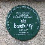 Domesday Book memorial plaques