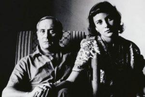 Joan Miro and Pilar Juncosa