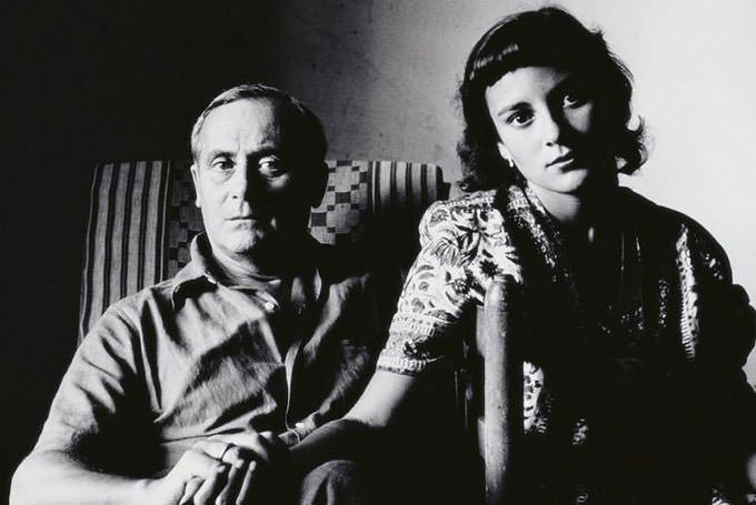 Joan Miro and Pilar Juncosa