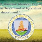 Lincoln established the USDA