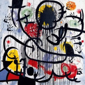 May 1968 by Joan Miro