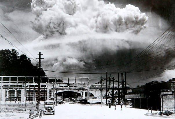 Nagasaki atomic bomb blast
