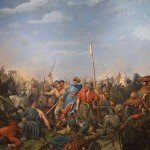 Battle of Stamford Bridge Painting