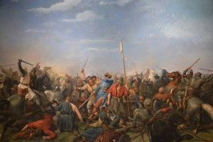 Battle of Stamford Bridge Painting