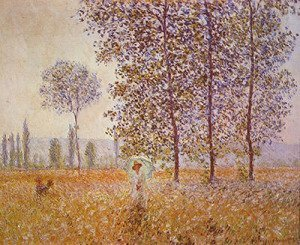 Poplars in the Sun, 1887