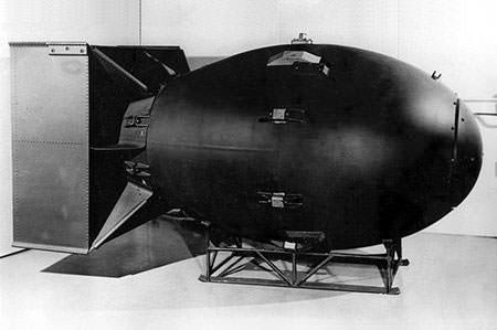 Fat Man Atomic Bomb