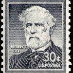 Robert E Lee - Postage Stamp