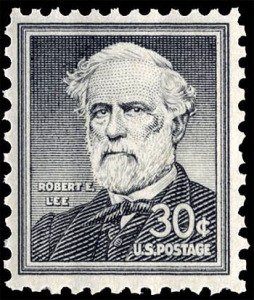 Robert E Lee - Postage Stamp