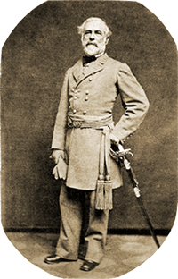 Robert E Lee in 1863
