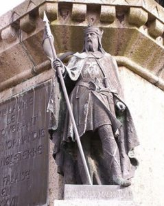 Robert I Statue In Falaise